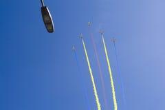 Demostración de la fuerza aérea imagen de archivo