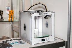 demostración de la impresora 3D Fotos de archivo libres de regalías