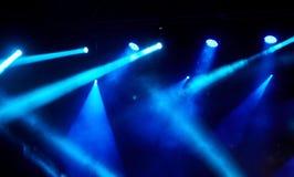 Demostración de la luz del concierto Fotos de archivo