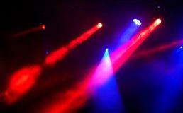 Demostración de la luz del concierto Foto de archivo