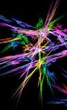 Demostración de la luz del fractal Fotos de archivo libres de regalías