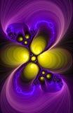 Demostración de la luz del fractal Imagen de archivo libre de regalías