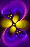 Demostración de la luz del fractal Foto de archivo libre de regalías