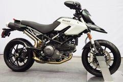 Demostración de la moto de Ducati Fotografía de archivo libre de regalías
