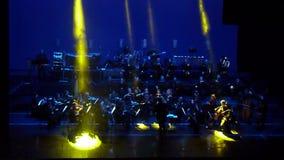 Demostración de la orquesta sinfónica metrajes