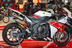 Demostración de motor de Yamaha R1 2012 Foto de archivo