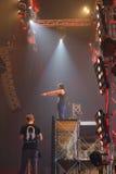 Demostración de STEVE AOKI en 808 el FESTIVAL 2013 fotografía de archivo libre de regalías