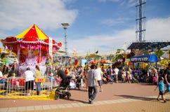 Demostración de Sydney Royal Easter de la feria de diversión de la comunidad en la demostración 2013 de Pascua en el parque de Sy imagen de archivo libre de regalías