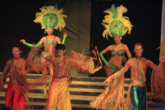 Demostración de variedad del carnaval Fotos de archivo libres de regalías