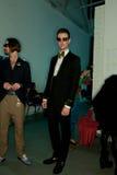 Demostración de Vivienne Westwood Shangai entre bastidores Fotografía de archivo libre de regalías
