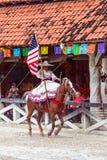Demostración del caballo en México Foto de archivo libre de regalías