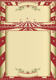 Demostración del circo del vintage Imagen de archivo