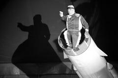 Demostración del circo en el ³ de Sant Pere de Torellà Imagen de archivo
