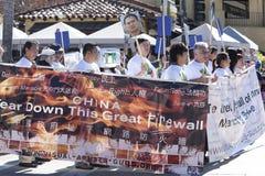 Demostración del desfile de Doo Dah Imagenes de archivo