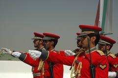 Demostración del ejército de Kuwait Imagenes de archivo