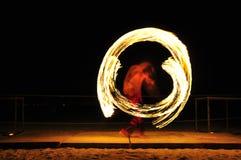 Demostración del fuego Foto de archivo libre de regalías