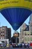 Demostración del globo, Sint-Niklaas, Bélgica fotos de archivo