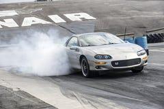 Demostración del humo de Camaro Fotos de archivo