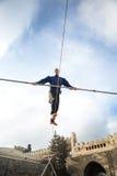 Demostración del juglar de Novruz Fotografía de archivo