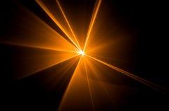 Demostración del laser foto de archivo