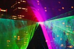 Demostración 2 del laser Foto de archivo libre de regalías