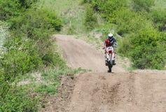 Demostración del motocrós en Bulgaria Fotos de archivo