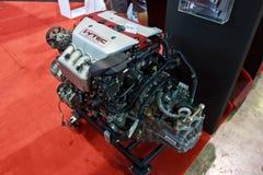 Demostración del motor del i-VTEC DOHC de HONDA en el segundo internationa de Bangkok Fotos de archivo libres de regalías