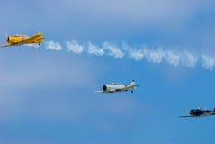 Demostración del mustango P-51 Fotografía de archivo