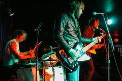 Demostración del rock-and-roll Foto de archivo