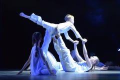 Demostración del teatro de danza del ` s de los niños Foto de archivo libre de regalías