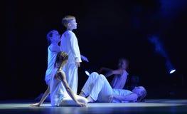 Demostración del teatro de la danza de los niños Fotos de archivo