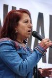 Demostración en Marchena Sevilla 15 Foto de archivo