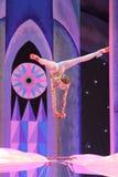 Demostración fantástica del circo del Año Nuevo Fotos de archivo