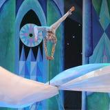 Demostración fantástica del circo del Año Nuevo Imágenes de archivo libres de regalías