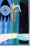 Demostración fantástica del circo del Año Nuevo Imagenes de archivo