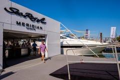 Demostración internacional del barco de Miami Fotografía de archivo libre de regalías