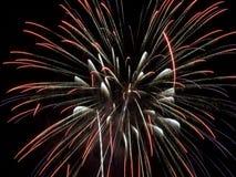 Demostración IV de los fuegos artificiales imágenes de archivo libres de regalías