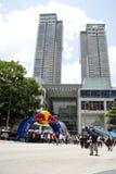 Demostración Malasia 2011 de la calle de la velocidad de F1 Red Bull Fotos de archivo