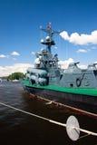 Demostración marítima internacional de la defensa en St. Petersb Imágenes de archivo libres de regalías