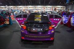 Demostración modificada de la demostración de coche en Bangkok Internationail 2017 Fotos de archivo