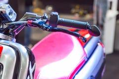 Demostración modificada de la motocicleta en Bangkok Imagenes de archivo