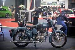 Demostración modificada real de la motocicleta en el salón auto internacional 2018 de Bangkok Fotos de archivo libres de regalías
