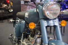 Demostración modificada real de la motocicleta en el salón auto internacional 2018 de Bangkok Fotos de archivo