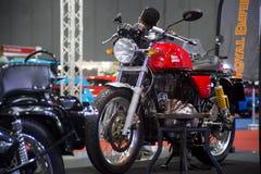 Demostración modificada real de la motocicleta en el salón auto internacional 2018 de Bangkok Foto de archivo