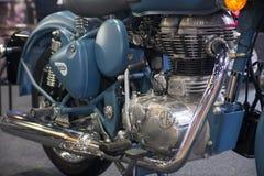 Demostración modificada real de la motocicleta en el salón auto internacional 2018 de Bangkok Imagenes de archivo