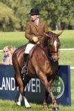Demostración real del caballo de Windsor Imagenes de archivo
