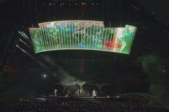 Demostración U2 360 en São Pablo Fotografía de archivo libre de regalías