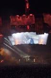 Demostración U2 360 en São Pablo Imágenes de archivo libres de regalías