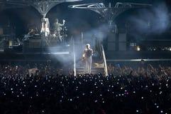 Demostración U2 360 en São Pablo Fotografía de archivo