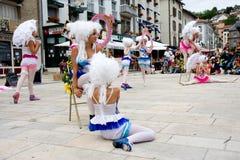 Demostración veneciana de la calle Fotos de archivo